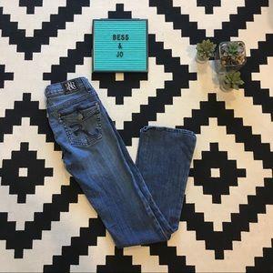 Rock & Republic Button Back Pocket Jeans